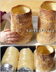 Manókonyha: Kürtőskalács sütőben sütve