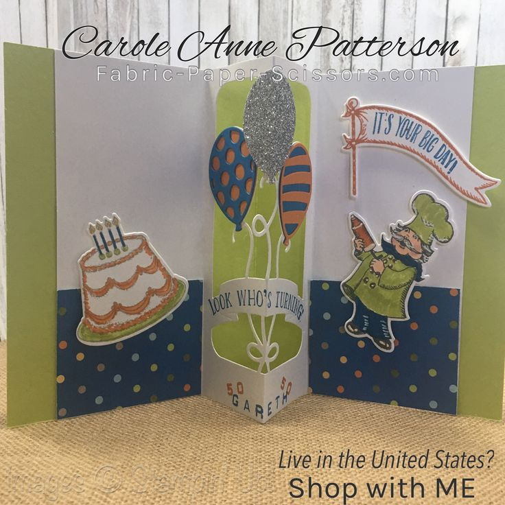 36 Best Stampin' Up! Birthday Delivery Images On Pinterest