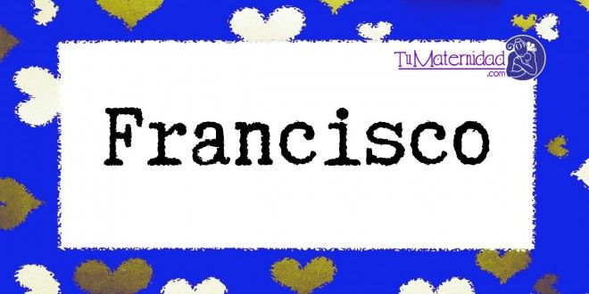 F de Francisco.