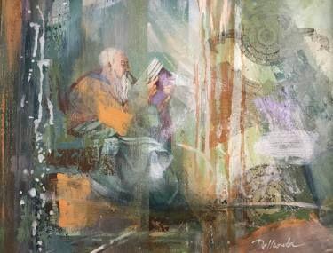"Saatchi Art Artist Aria Dellcorta; Painting, ""Whisper from far away"" #art #abstract #saatchiart #new #soul #fineart #painting #artforsale #academicart #originalart @ariadellcorta"