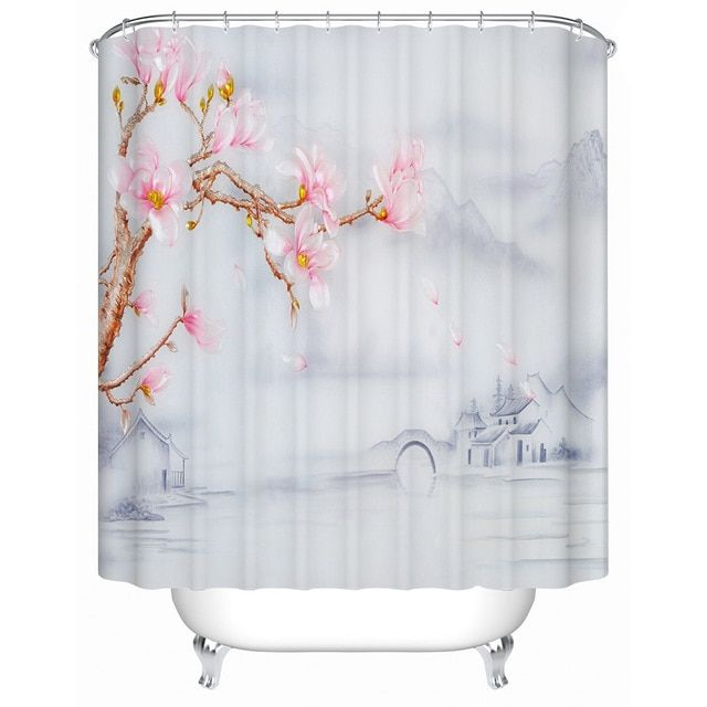 Chinese Style Jiangnan Style Town Flower Shower High Quality