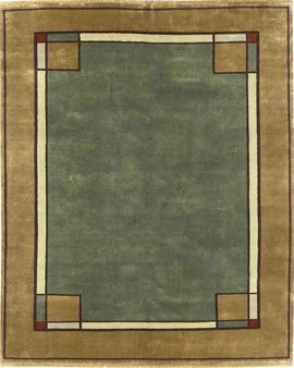 Arts And Crafts Rug (Craftsman Style Carpet), By The Persian Carpet, Wool