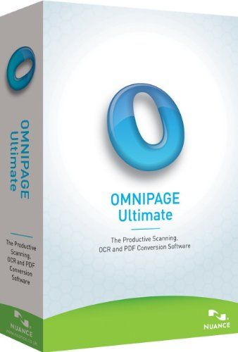 Nuance Communications, Inc. OmniPage Ultimate – Complete Product – 1 User E709A-G00-19.0  http://www.bestcheapsoftware.com/nuance-communications-inc-omnipage-ultimate-complete-product-1-user-e709a-g00-19-0/