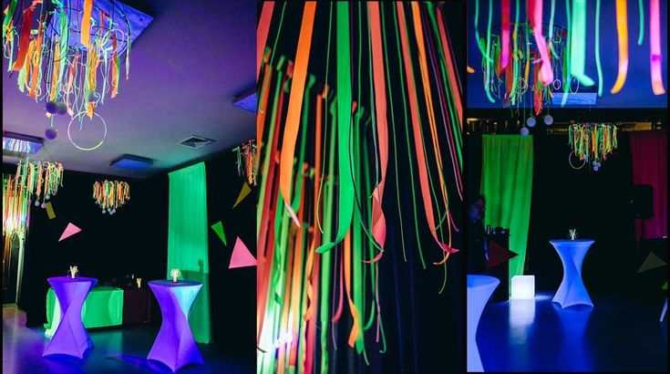 Neon feest, party, neon, led, colours