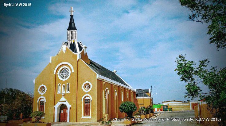 https://flic.kr/p/B7PQrT | Church of Santa Rosa (Photoshop-Edited) | www.flickr.com/photos/116827835@N07/21334921039/in/dateta...  (I Used This Photo as Background)