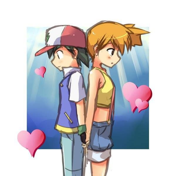 Ash &amp- Misty. (my fav pokemon couple) - YouTube