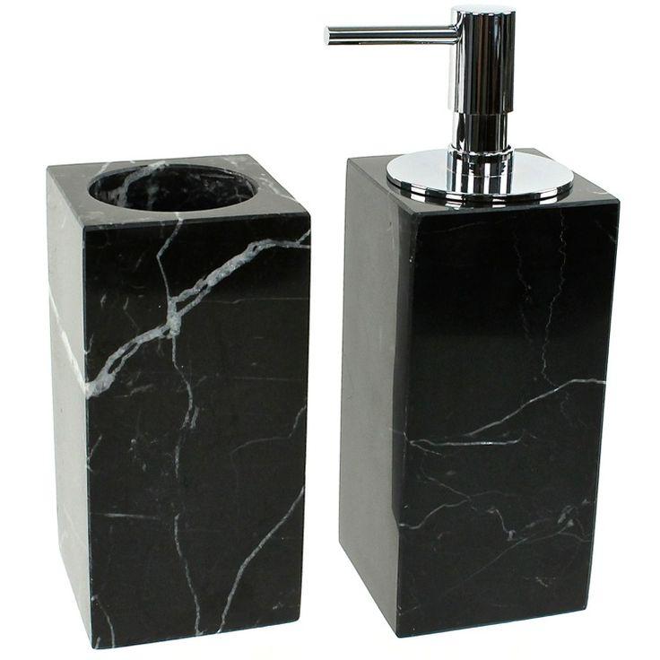 Bathroom Accessories S black marble bathroom accessories black marble bathroom