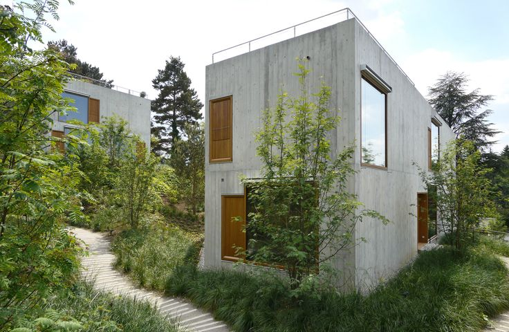 Gallery of Two-familiy Apartment Houses / Staehelin Meyer Architekten - 1