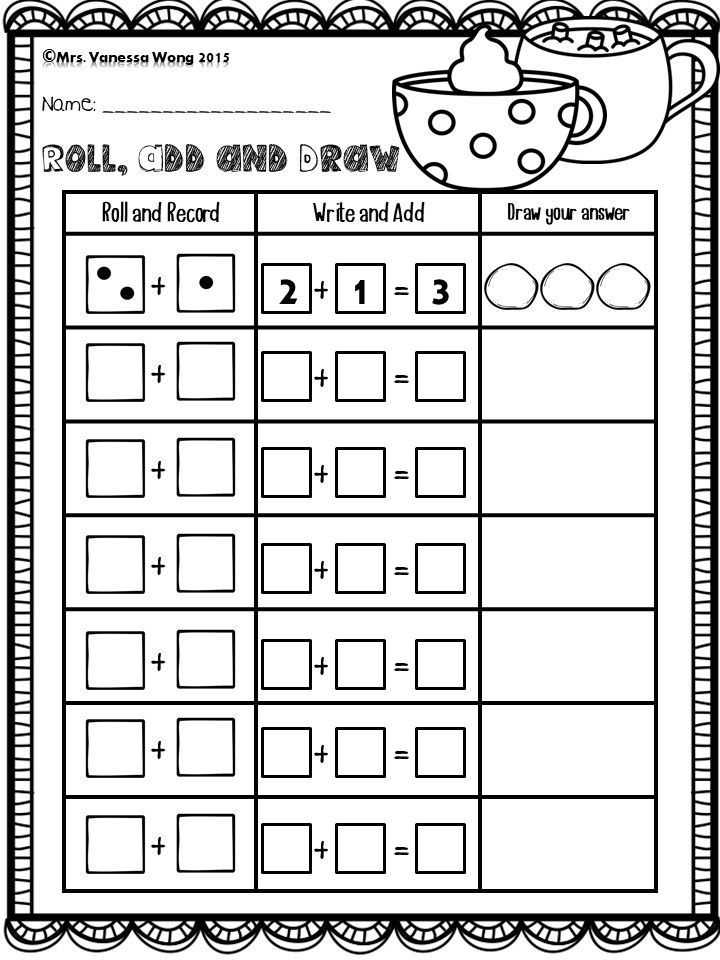 Winter Math And Literacy Centre Kindergarten Winter Addition Download Free Printables At Preview Winter Math Winter Math Kindergarten Winter Kindergarten Free kindergarten winter math worksheets