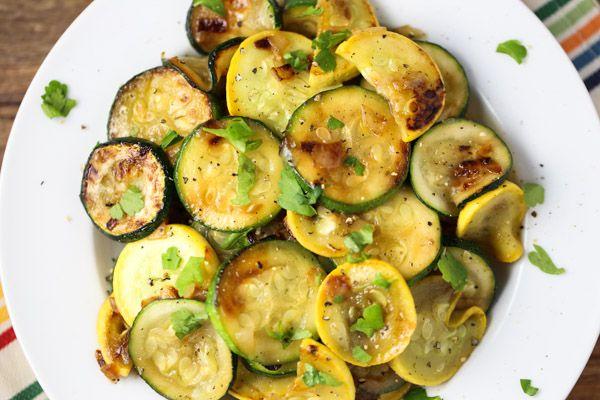 Sautéed Zucchini and Yellow Summer Squash | Tabs & Tidbits