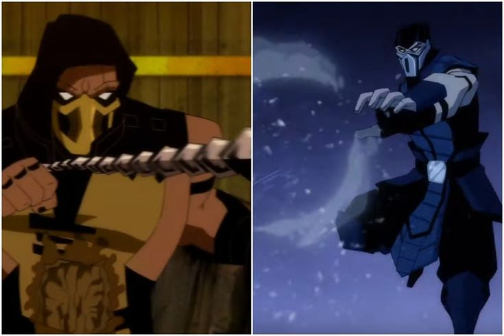 Mortal kombat animated film gets a bloodsoaked trailer