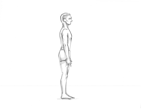 tadasana mountain pose is the foundational pose for all