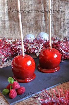 Manzanas caramelizadas