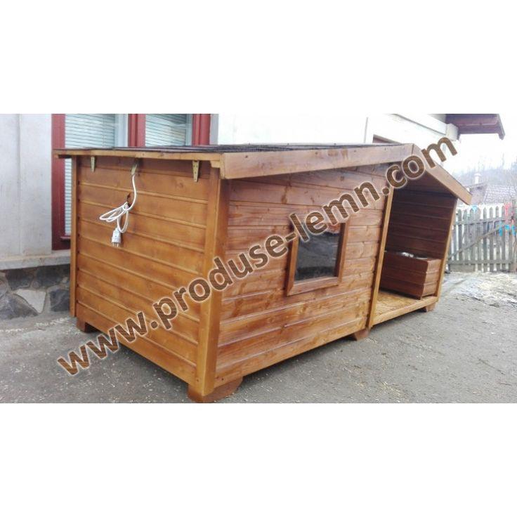 www.produse-lemn.com custi-din-lemn-izolate-termic cusca-de-caine-din-lemn-cu-terasa-model-3 Cusca-cotet-din-lemn-izolat-termic-cu-terasa-model-3-S