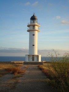 Faro del Cap de Barbaria. Cap de Barbaria Lighthouse.   ***Formentera***