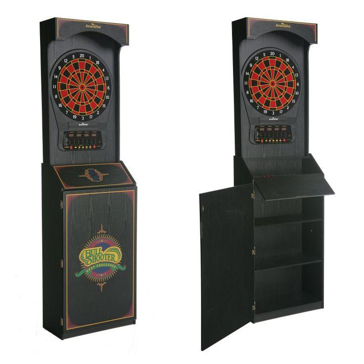 Arachnid CricketPro 650 Arcade Electronic Dart Board Complete Set - E650FS-BK