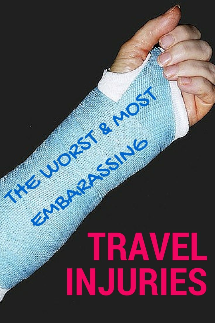 War Stories From the Road: The Worst and Most Embarrassing Travel Injuries Abroad