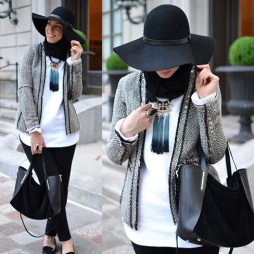 winter hijab style, Hijab trends from the street http://www.justtrendygirls.com/hijab-trends-from-the-street/