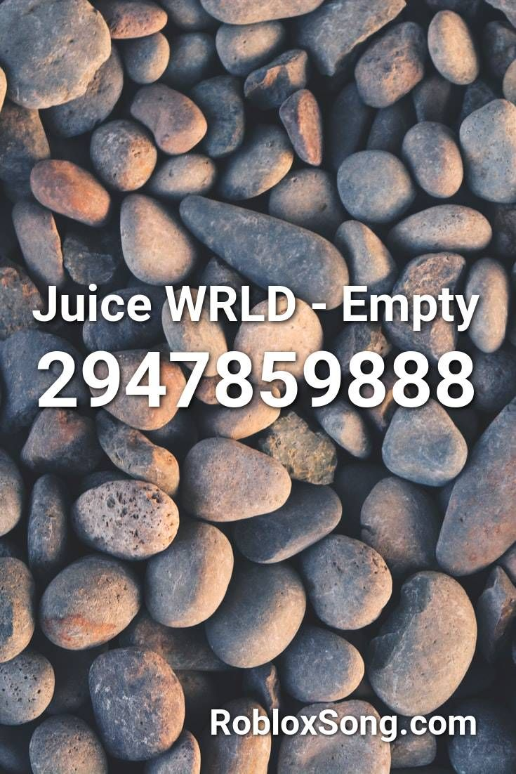 Juice Wrld Empty Roblox Music Codes Songs