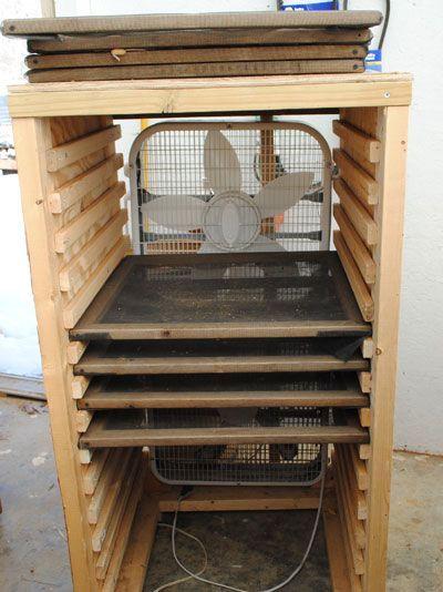 seed drying racks like the ones we built in ecuador