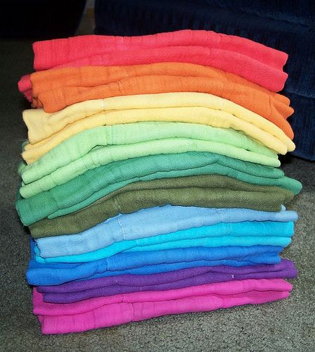 How to dye prefolds