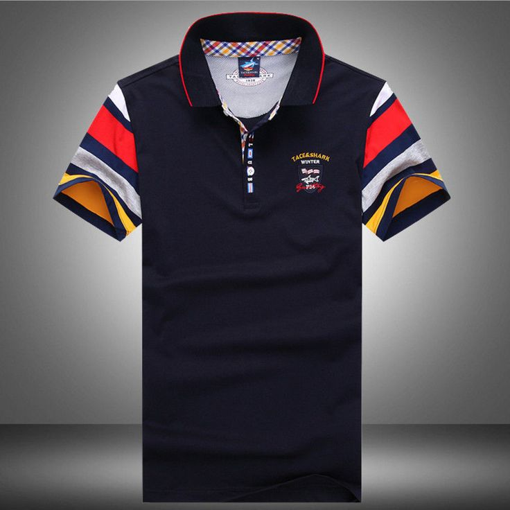Tace & Shark Poloshirt, Polo Hemd Shirt Größe M, L, XL, XXL, XXXL №216