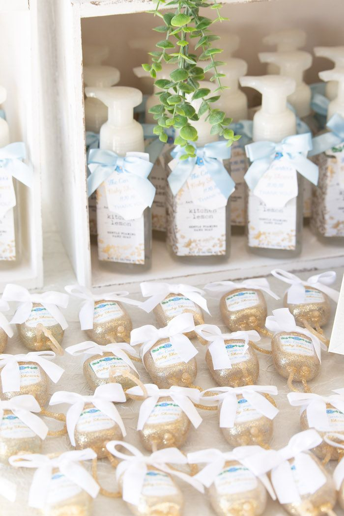 Oh Baby Glamorous Garden Baby Shower Baby Boy Shower Favors