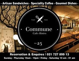 Brainiac: Commune Cafe & Restaurant
