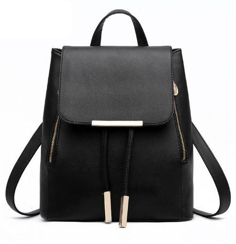 Style and functionality come together in this fashionable backpack that will fit your tablet, wallet, cellphone and even a small camera. It's the perfect addition for your weekend getaways and strolls around town. #hellowander #backpack