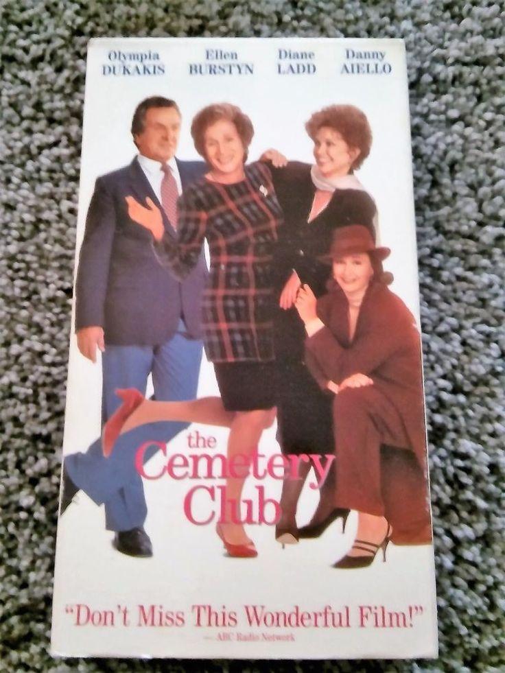 The Cemetery Club (1993) VHS DANNY AIELLO,DIANE LADD,ELLEN BURSTYN GUC