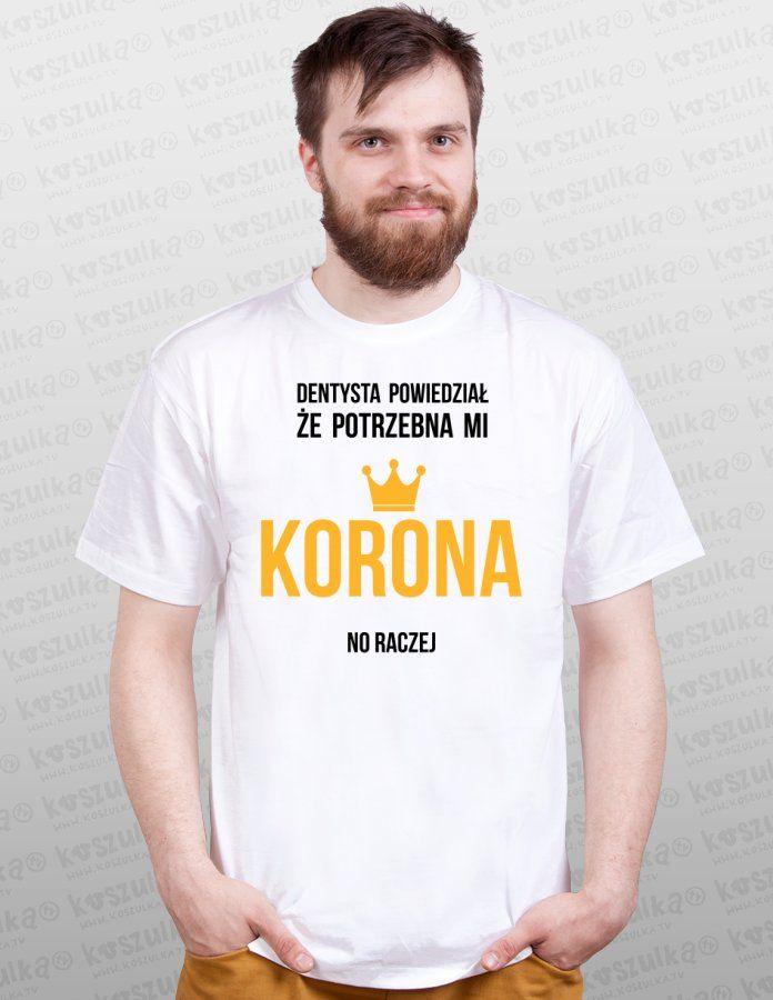 Koszulka.tv - Śmieszne koszulki z nadrukiem » Korona - NORMAL