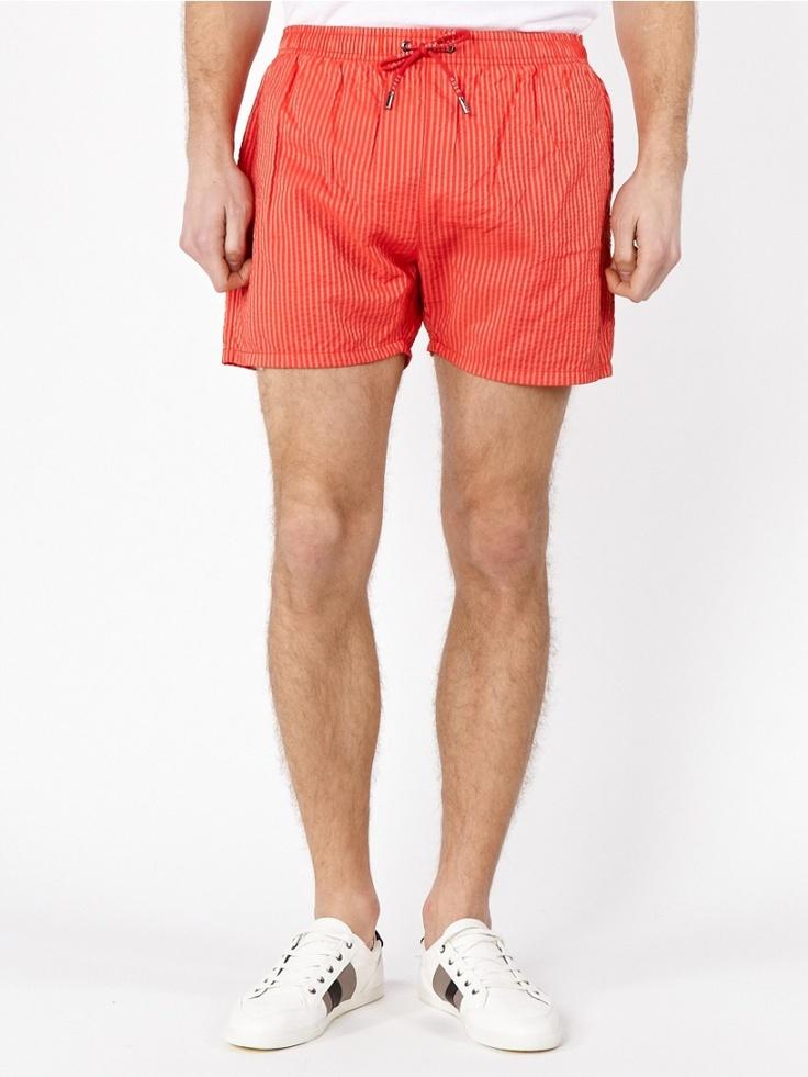 Красные шорты Hugo Boss - Мужчинам