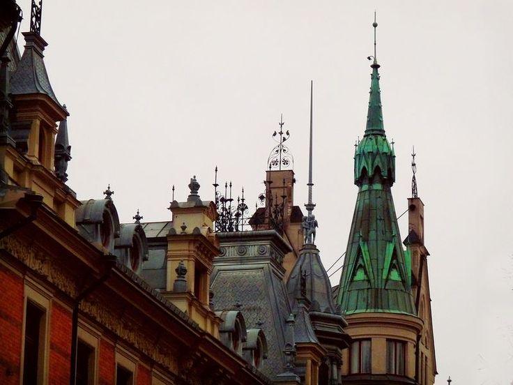 Sundsvall roof tops.