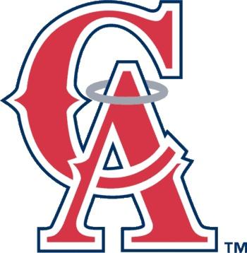 California Angels logo 1995 - 1996.
