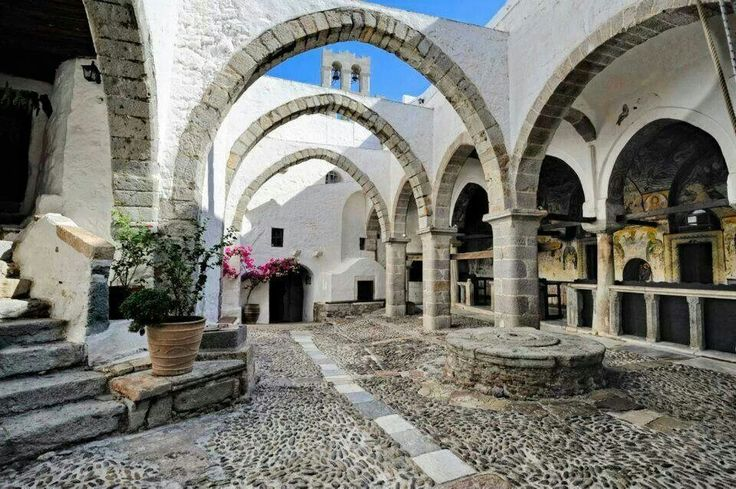 St John monastery in Patmos island
