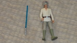 Star Wars POTF Luke Skywalker Blast Shield Loose Fig with all Accessories | eBay