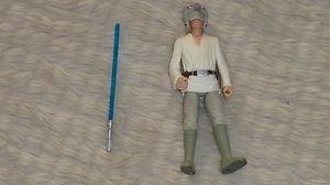 Star Wars POTF Luke Skywalker Blast Shield Loose Fig with all Accessories | eBay