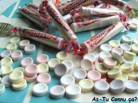 Smarties candy Rolls