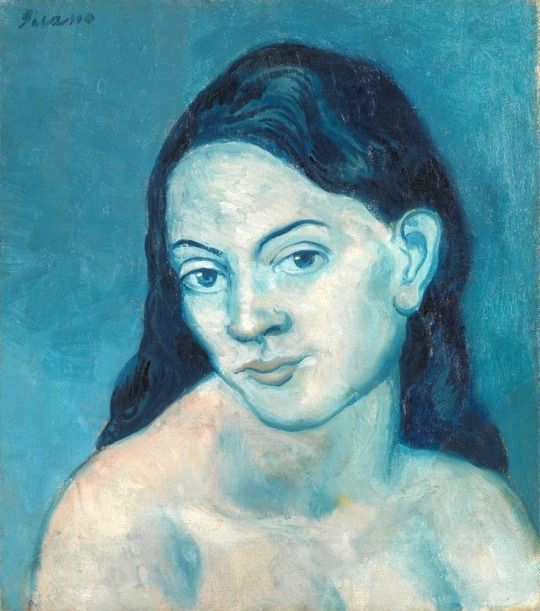 Head of Woman by Pablo Picasso