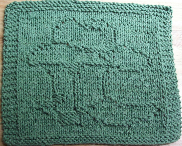 DigKnitty Designs: Cowboy Boot and Hat Knit Dishcloth Pattern