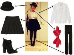 mary poppins costume diy - Google Search