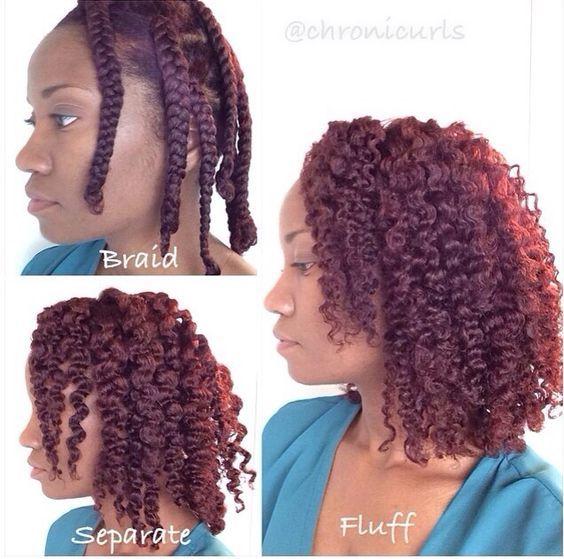 5 méthodes pour réaliser de belles boucles sur les cheveux crépus ⋆ Sa Ka F…