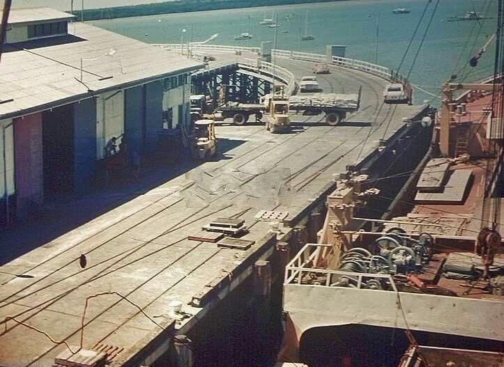 Stokes Hill Wharf c1970s