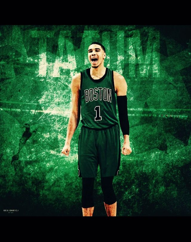 Jayson Tatum No. 3 Pick this year, by the Celtics. Year!
