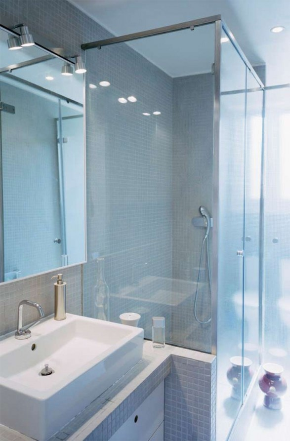 17 best images about when space is tight on pinterest - Bathroom shower designs small spaces ...