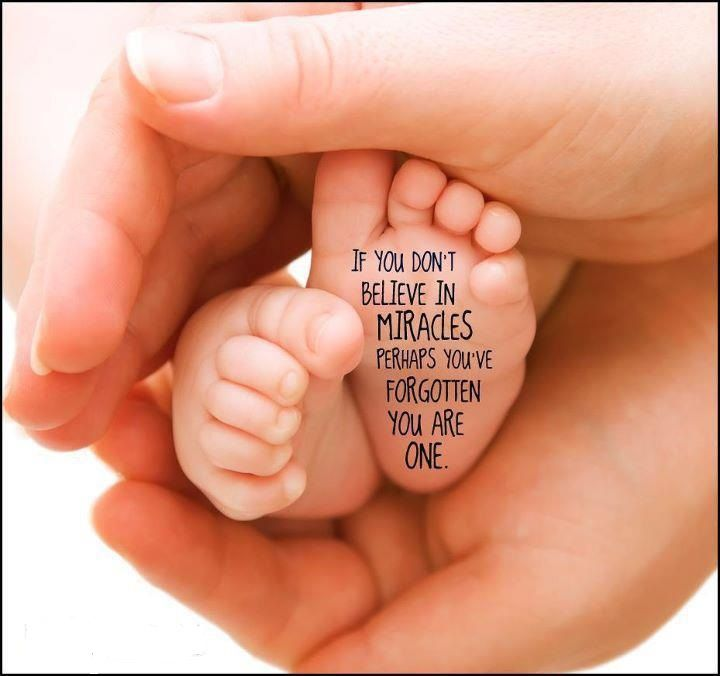 If you don´t belive i4  miracles...