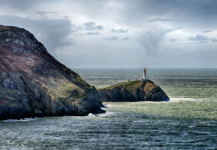 South Stack viewed from North Stack