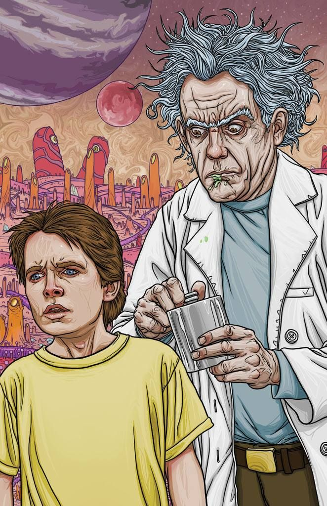 rick-and-morty-doc-and-marty.jpg (662×1024)