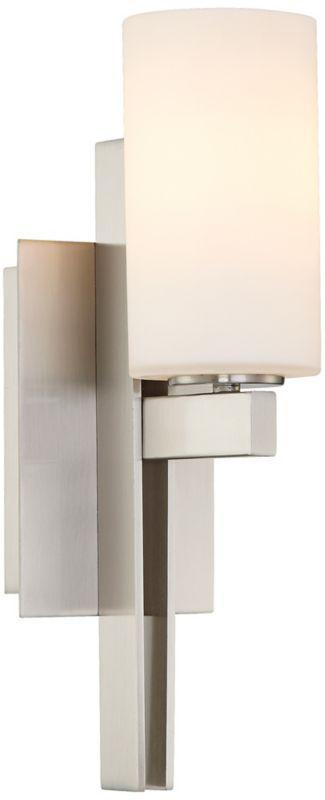 modern bathroom lighting illuminating experiences ledra. modern bathroom lighting illuminating experiences ledra tuning fork brushed nickel possini euro wall sconce