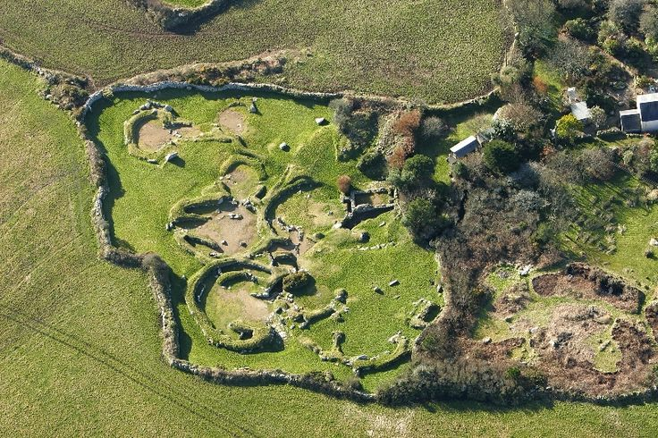 Carn Euny ancient iron age village Cornwall